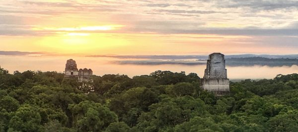 Tikal at Sunrise