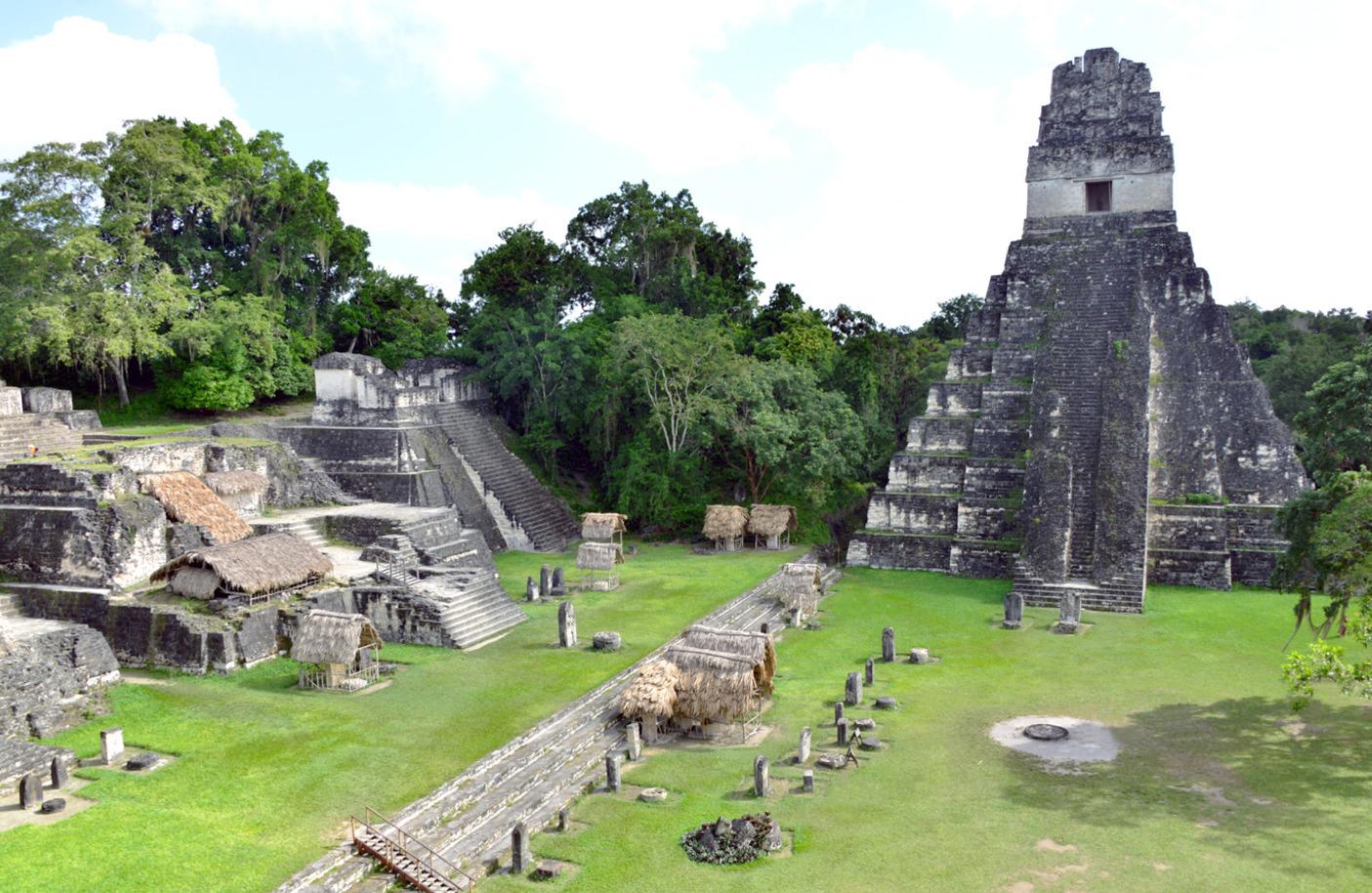 Tikal's Tempels