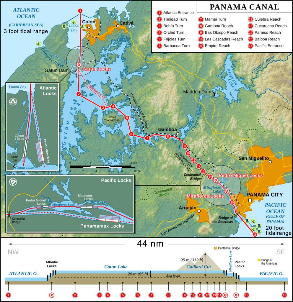 Panama Canala Layout updated