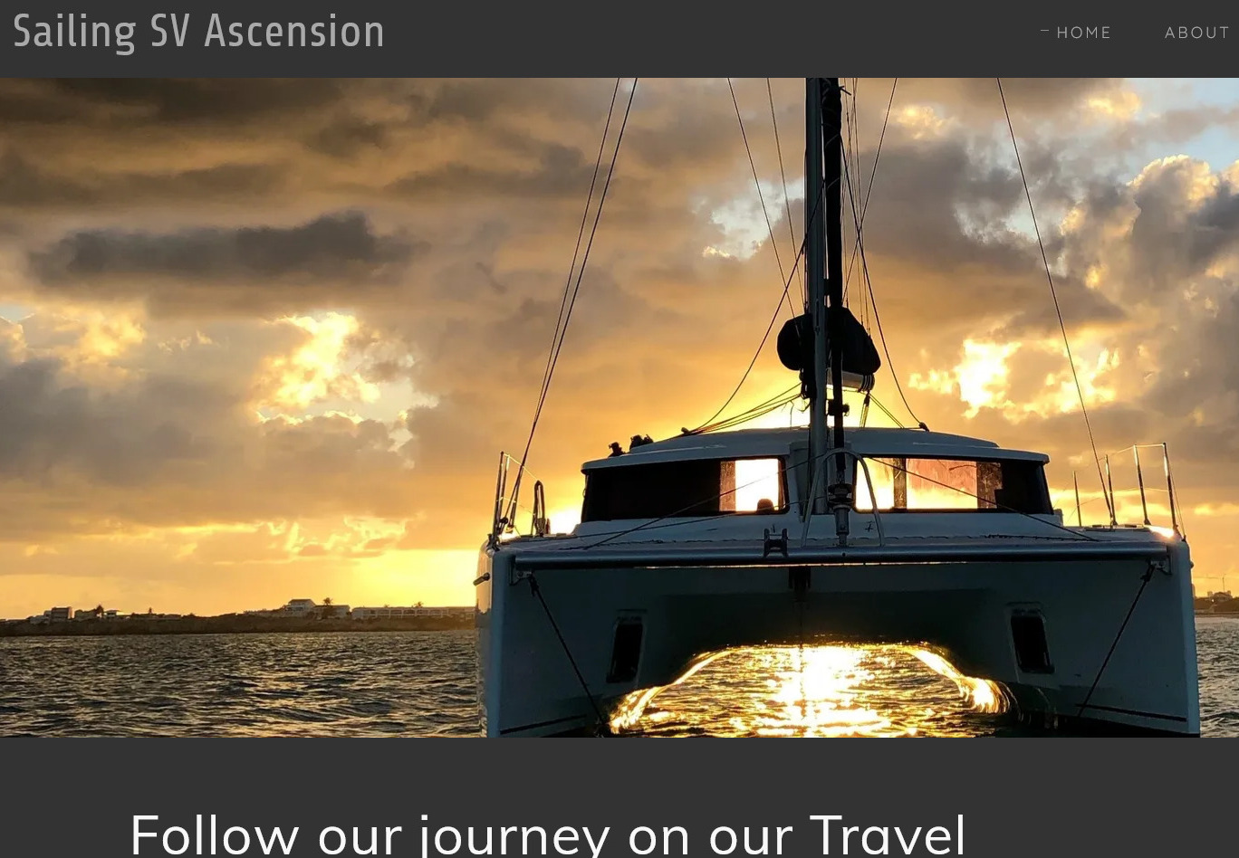 Follow our journey on our Travel Blog Get to know me!