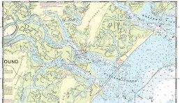Savannah Georgia Approach map