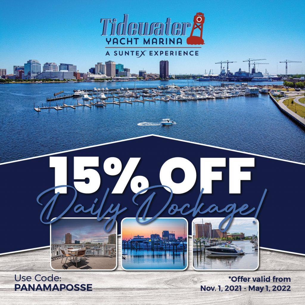 Tidewater Yacht Marina a Suntex Experience Sponsors the Panama Posse